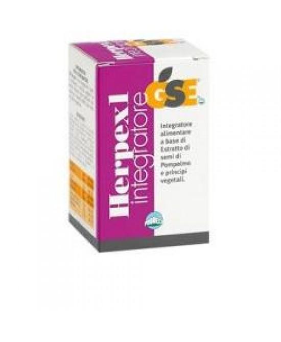 Gse Herpex 1 Integratore Alimentare 60 Compresse - Farmastar.it