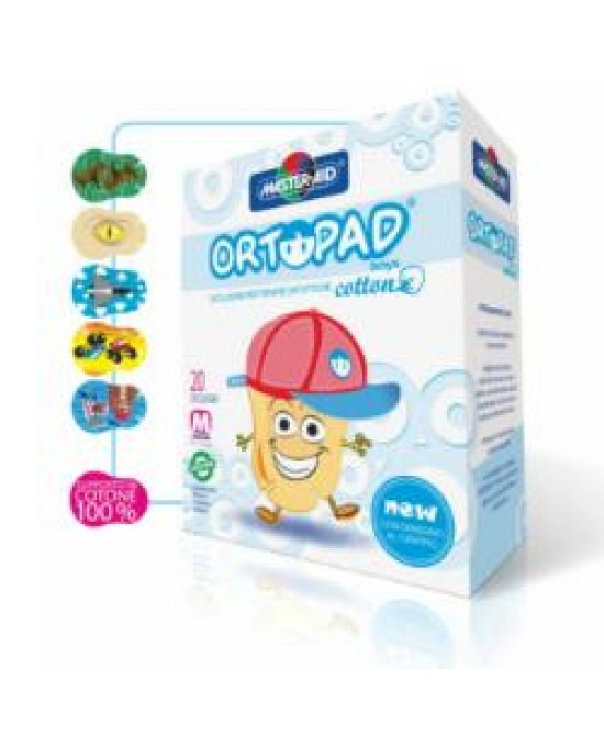 Cer Ortopad Cotton Boys J 20pz - Farmastar.it