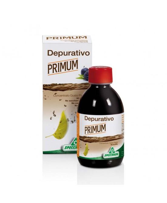 Specchiasol Primum No Alcool Sciroppo Gusto Prugna Integratore Depurativo 250 ml
