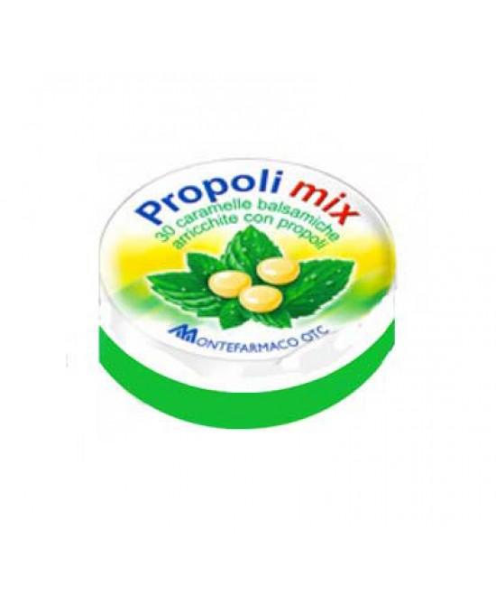 Montefarmaco OTC Propoli Mix Caramelle Balsamiche Integratore Alimentare 30 Caramelle - Zfarmacia