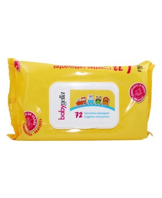 Babygella Linea Igiene Salviettine Detergenti 72 Pezzi - Zfarmacia