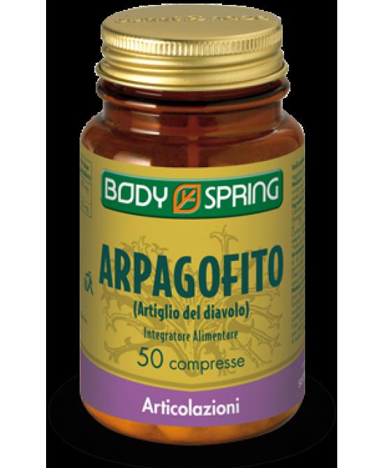 Body Spring Arpagofito 50 Compresse - Parafarmacia la Fattoria della Salute S.n.c. di Delfini Dott.ssa Giulia e Marra Dott.ssa Michela