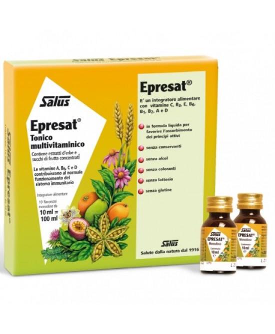 Salus Epresat Tonico Multivitaminico 10 Flaconcini da 10 ml offerta