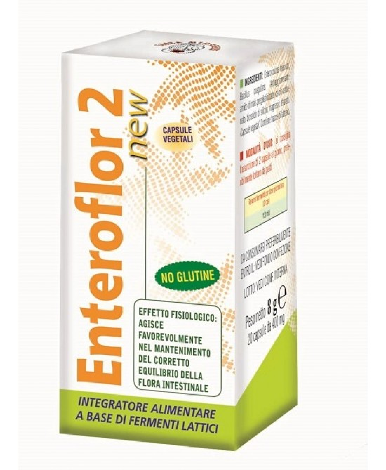 Enteroflor 2 New 20 capsule - Iltuobenessereonline.it