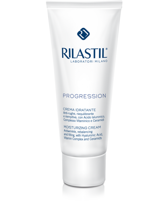 Rilastil Progression Crema Viso Idratante Anti-Rughe Riequilibrante 50 ml - latuafarmaciaonline.it