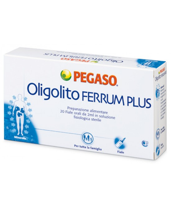 Pegaso Oligolito Ferrum Plus Oligoelementi offerta