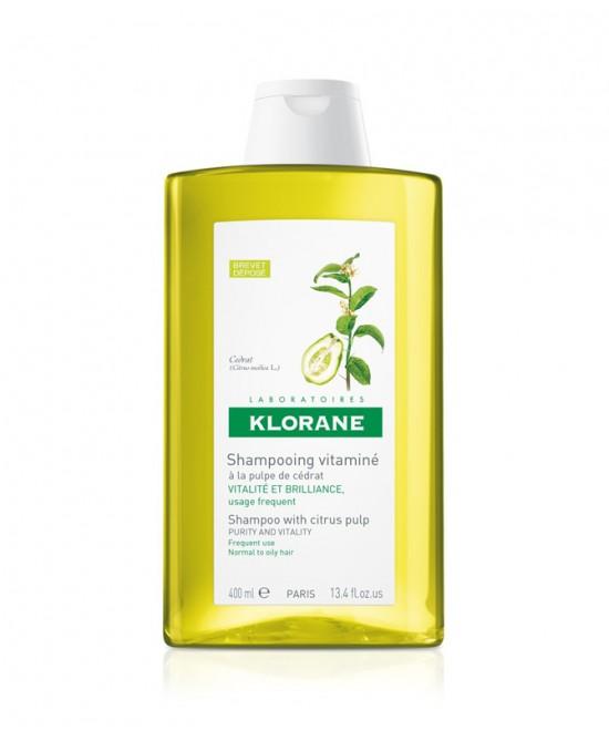 Klorane Shampoo Vitaminizzato Alla Polpa Di Cedro 400ml - farmaventura.it