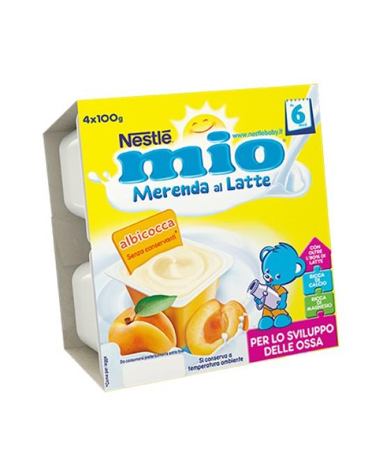 Nestlé Mio Merenda Al Latte Gusto Albicocca 4x100 g