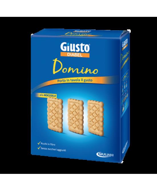 Giusto Diabel Domino Biscotti alla Nocciola Per Diabetici 150 g offerta
