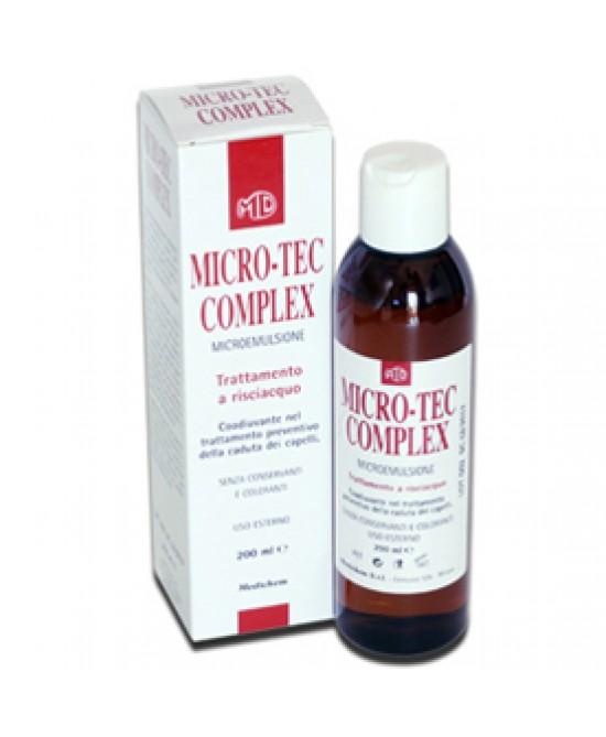 Micro Tec Complex Shampoo Trattamento Risciacquo Anticaduta 200 ml offerta