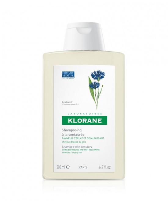 KLORANE SHAMPOO TRATTANTE E RIFLESSANTE ALLA CENTAUREA 200 ML - Nowfarma.it