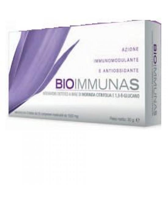 Bioimmunas Integratore Difese Immunitarie 20 Compresse
