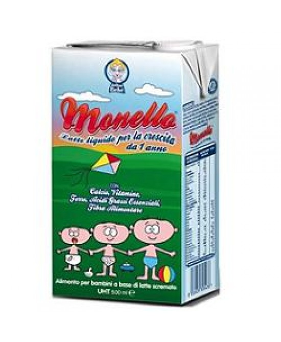 Monello Latte Crescita 500ml - Farmacistaclick