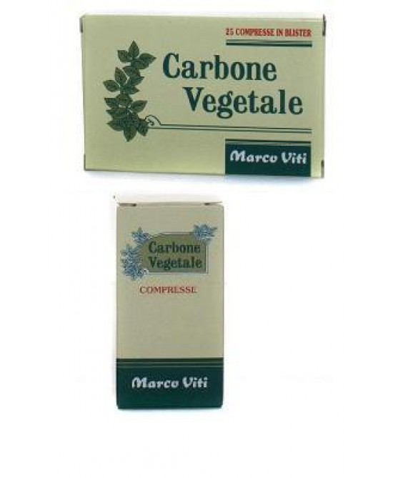 Carbone Veg 25cpr - La farmacia digitale