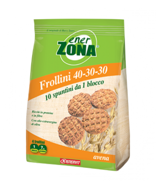 Enervit EnerZona Frollini 40-30-30 Avena 250g - Iltuobenessereonline.it