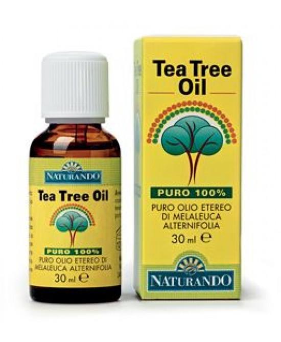 Naturando Tea Tree Oil Puro 100% 30ml - Iltuobenessereonline.it