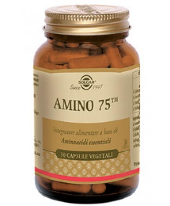 Solgar Amino 75 30 Capsule Vegetali
