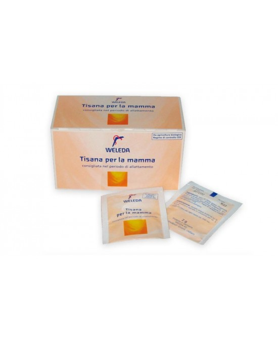 Weleda Tisana Mamma 20 Bustine Monodose - Farmafamily.it