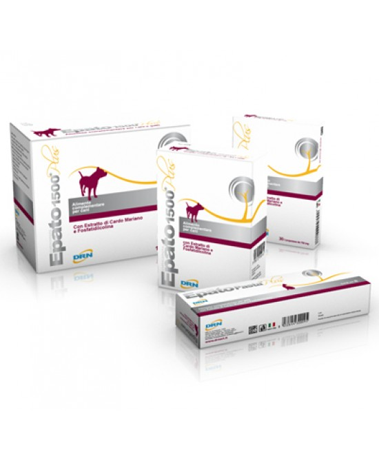 Drn Epato 1500 Plus Per Cani 32 Compresse - Farmaciasconti.it