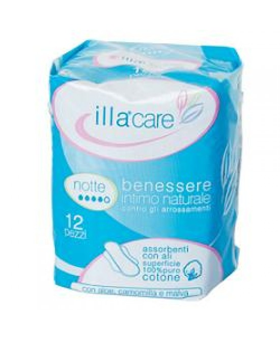 Illa Care Assorbenti Notte 12p - Farmafamily.it