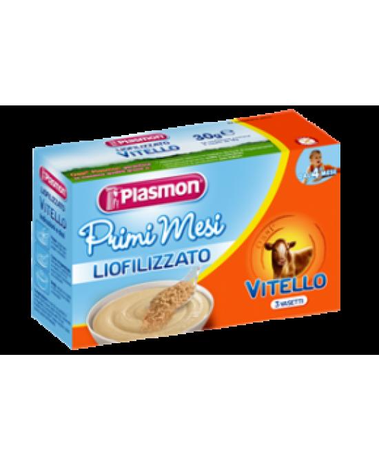 Plasmon Primi Mesi Liofilizzato Vitello 3x10g - Zfarmacia