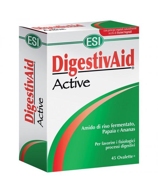Esi DigestivAid Active 45 Ovalette - Farmastar.it