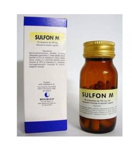 SULFON M 50CPR 700MG prezzi bassi