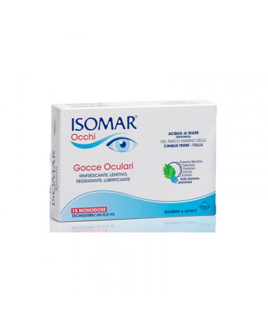 Isomar Occhi 15 Monodose Gocce 0,5ml - Farmafamily.it