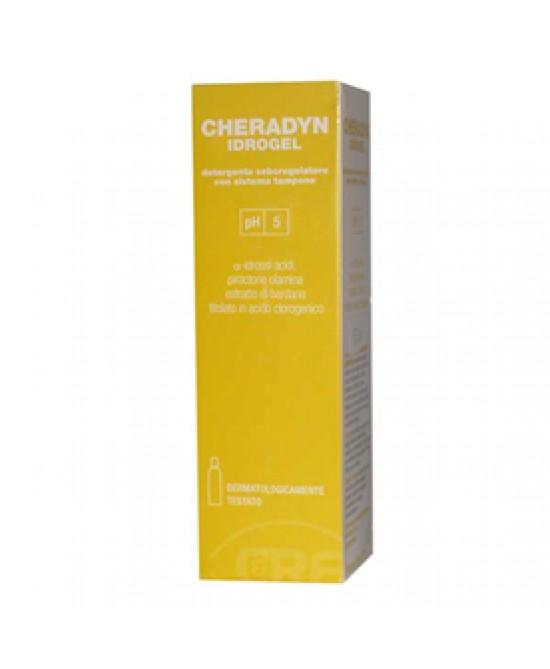 Cheradyn Idrogel Detergente Viso 40 ml