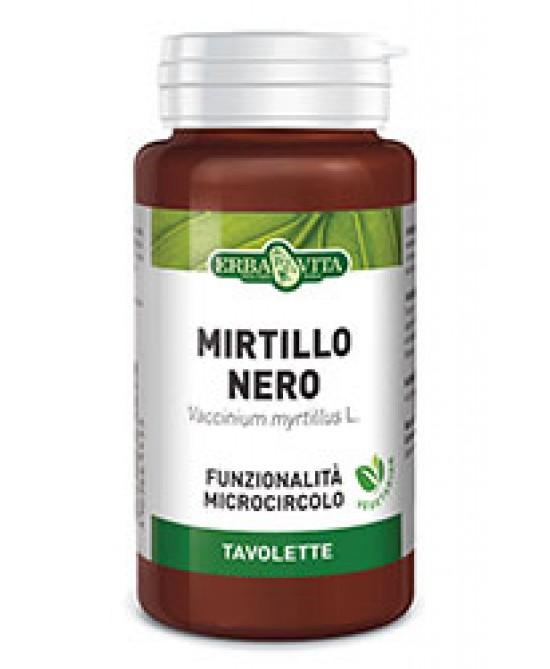 Erba Vita Mirtillo Bacche Integratore Microcircolo 125 Tavolette 400 mg