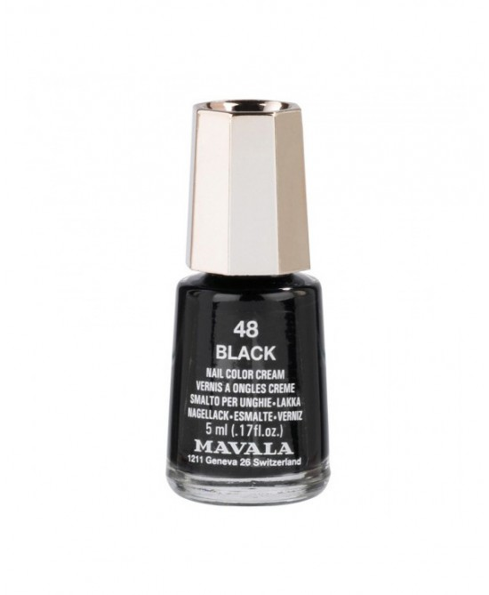 Mavala Minicolors Smalto Colore 48 Black 5ml