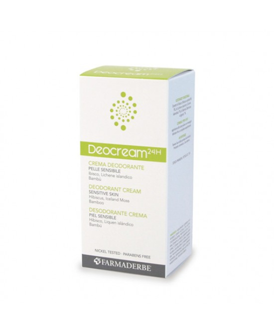 Deocream Crema Deodorante 50ml - Farmastar.it