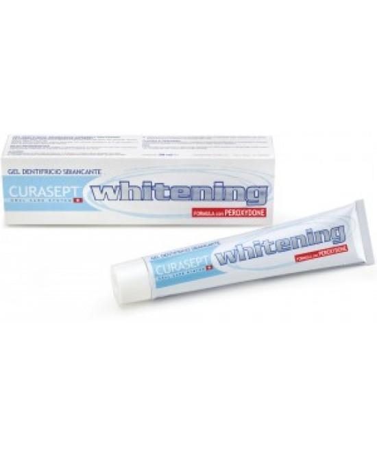 Curaden Curasept Sbiancanti Curasept Whitening Dentifricio 50ml - Farmabros.it