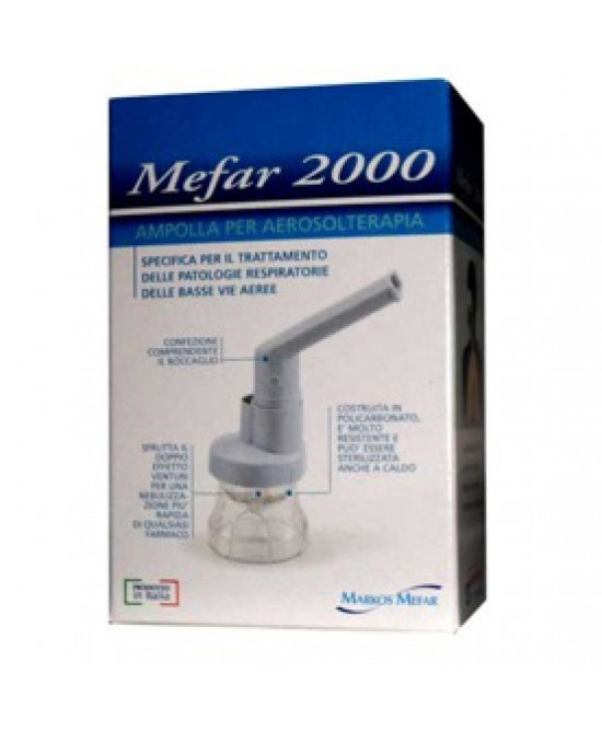 Ampolla Aerosol Mefar 2000 Con Raccordo - Farmafamily.it