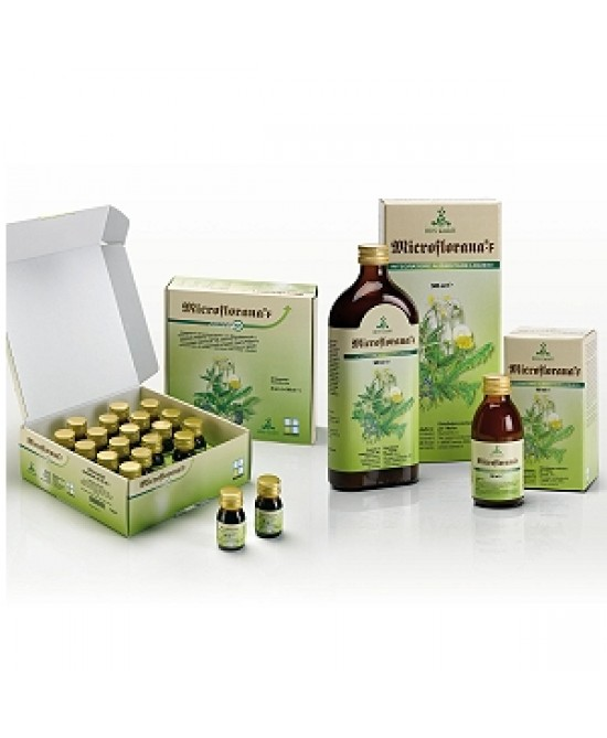 Named Microflorana-F Direct Integratore Alimentare 20 Flaconcini da 25ml - Farmacistaclick