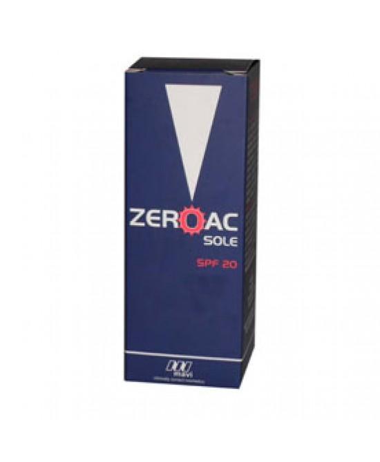 Zeroac Sole Gel Cr Fp20 50ml - Farmaconvenienza.it