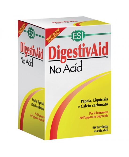 Esi DigestivAid No Acid 12 Tavolette - Iltuobenessereonline.it