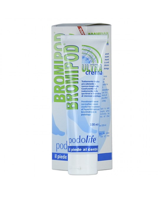 Bromipod Ultra Crema Per Piedi 100ml - Farmastar.it
