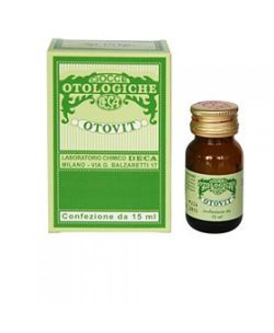 Otovit Gocce Auricolari 15ml - Farmapage.it