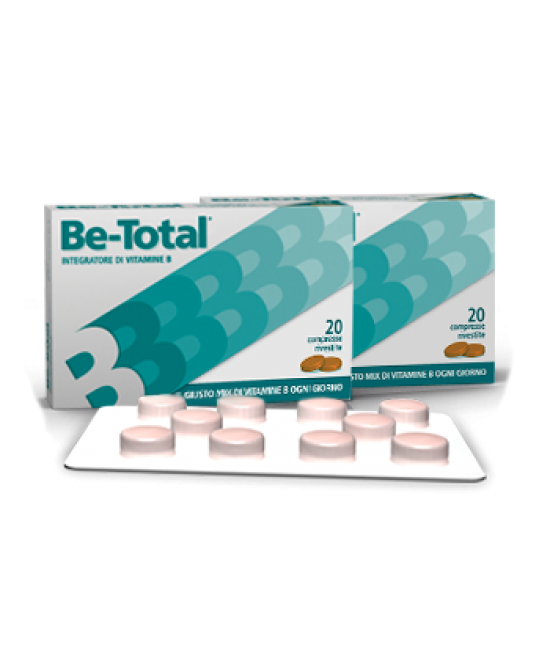 Be-Total Integratore Alimentare 20 Compresse - Farmaciasconti.it