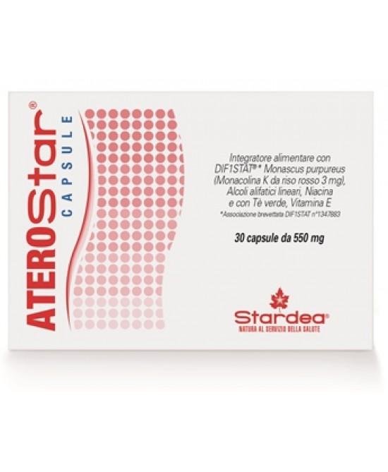 Stardea Aterostar Capsule 30 Compresse 550mg - Farmaciaempatica.it