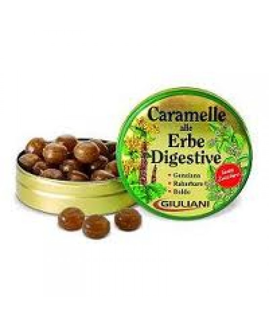 Giuliani Caramelle Alle Erbe Digestive Senza Zucchero 60g - FARMAPRIME