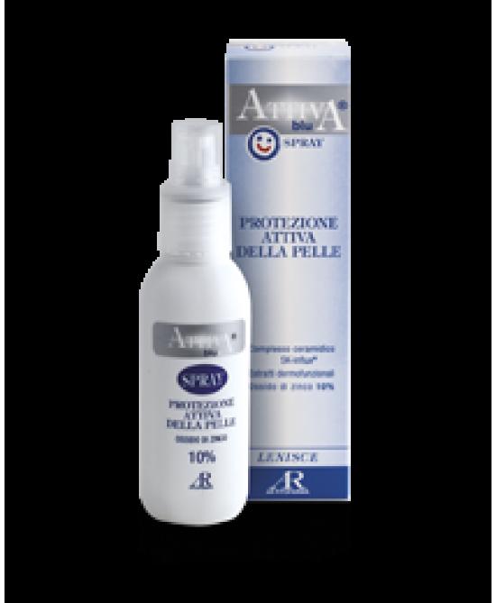 Attiva Blu Crema Lenitiva Spray 125ml - Parafarmacia la Fattoria della Salute S.n.c. di Delfini Dott.ssa Giulia e Marra Dott.ssa Michela