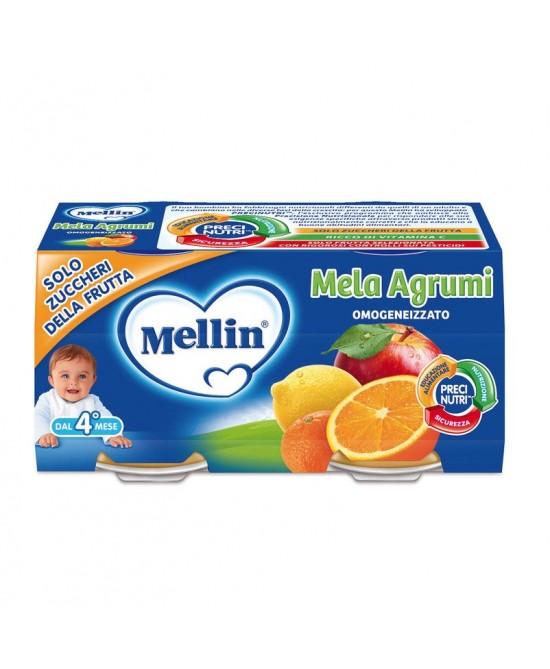 Mellin Omogeneizzati Di Frutta Mela Agrumi 2x100g - latuafarmaciaonline.it