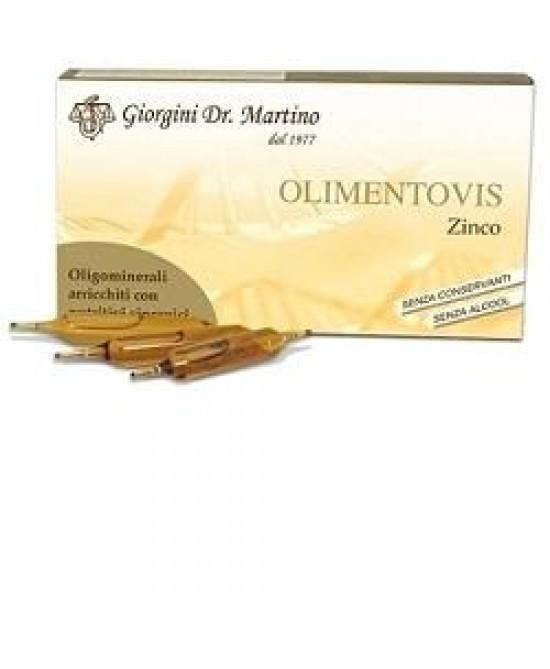 Dr. Giorgini Olimentovis Zinco Integratore Alimentare 60ml - Farmastar.it