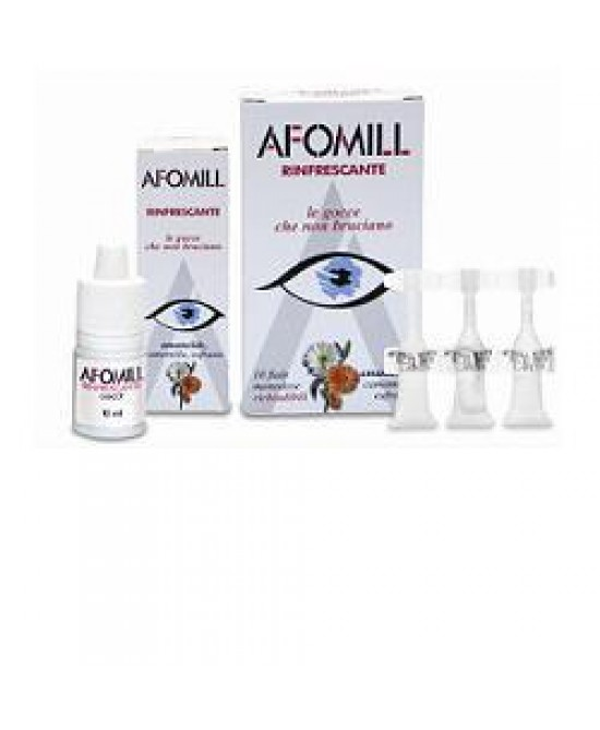Afomill Rinfrescante Gtt 10ml - Farmafamily.it
