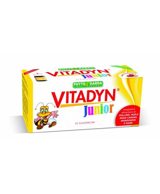 Phyto Garda Vitadyn Junior Integratore Alimentare 10 Flaconi Da 10ml - Farmacia Giotti