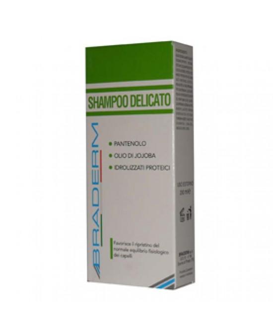 BRADERM SHAMPOO DELICATO LAVAGGI FREQUENTI 200 ML - Farmaciacarpediem.it