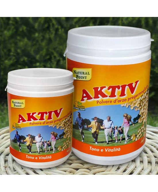 Natural Point Aktiv Orzo Biologico In Polvere 300g