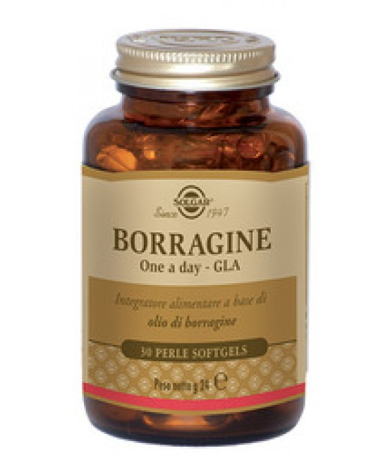 Solgar Borragine One A Day Gla 30 Perle - Farmafamily.it